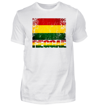 Reggae flag distressed