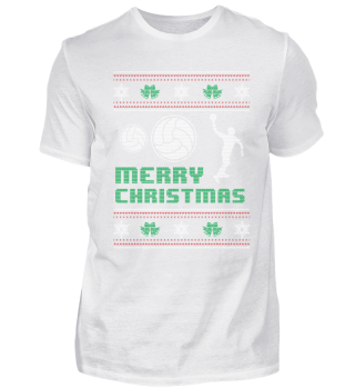 Funny Handball Shirt Merry Christmas