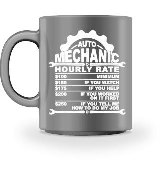 AUTO MECHANIC HOURLY RATE