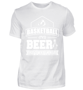 Funny Basketball BBall Shirt And Beer