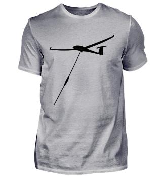 Windenstart eines Segelflugzeuges