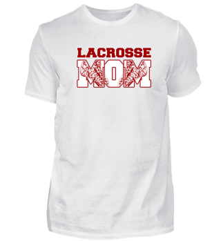 Lacrosse mom love heart