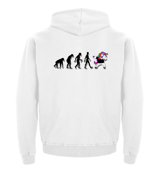Evolution Of Humans - Dabbing Unicorn 3