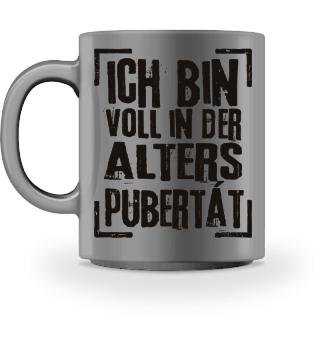 ALTERSPUBERTAET - schwarz 1