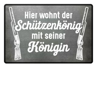 Fussmatte Schützenkönig / Schützenfest