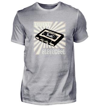 Oldschool Kassette Mixtape 80er 90er