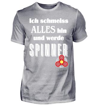 Ich werde Fidget Spinner - weiss