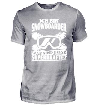 Snowboard Snowboarding Shirt Ich Bin