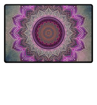 ♥ Folklore Lotus Mandala Pink Blue