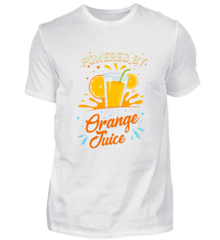 Funny Vegetarian: Powered Orange Juice