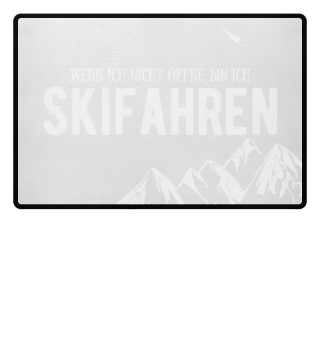 Ich bin beim Skifahren