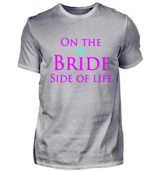 Bride side of life Diamant JGA Party
