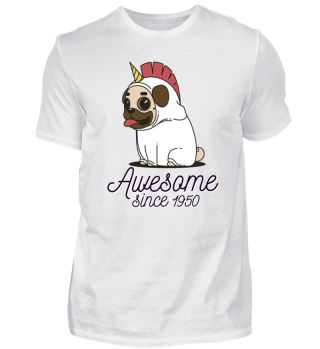 Awesome since 1950 funny Gift