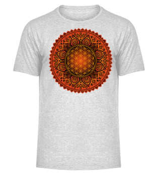 ♥ FLOWER OF LIFE - Folklore Mandala I
