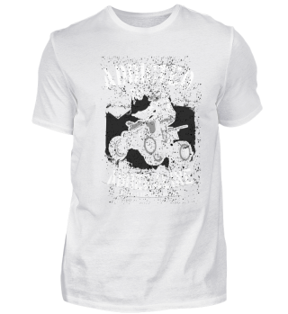 4-Wheeler Quad racing T-Shirt