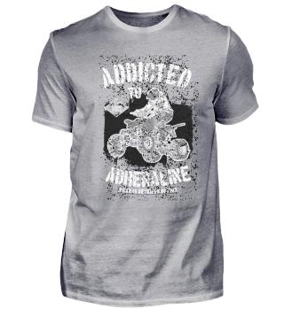 4-Wheeler Quad racing T-Shirt