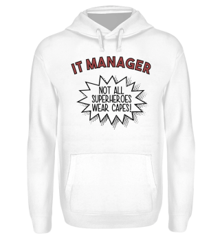 Superhero Capes IT Manager