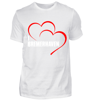 I Love Bremerhaven Shirt Black