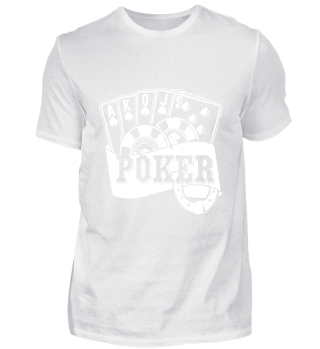 GIFT- POKER CARDS WHITE