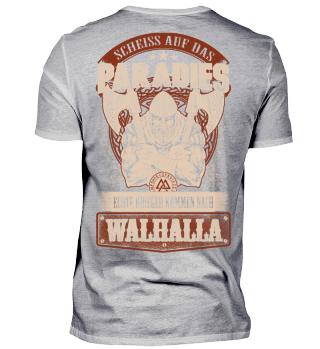 Wikinger Walhalla Krieger Geschenk
