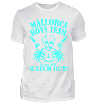 FUNNY MALLORCA SUMMER 2018 BOYS TEAM TEE
