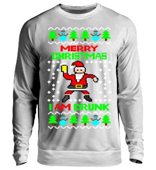 Frohe Weihnachten ich bin Betrunken Ugly