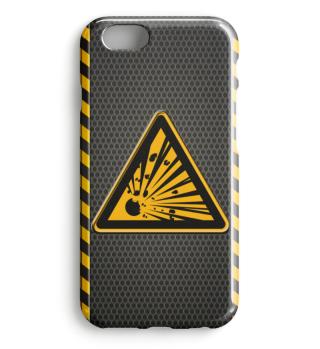 Warnung explosionsgefährlich Stoffe 0145