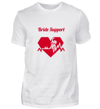 Bride Support design red