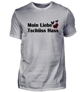 Moin Liebe Tschüss Hass Geschenkidee