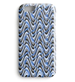 Blaues Smartphone Muster 0038