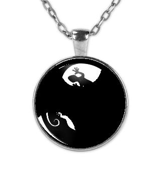 Yin Yang Geckos - Black KETTE