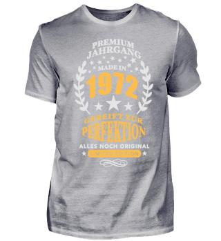 Geburtstags Shirt Premium Jahrgang 1972