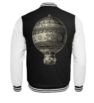 Steampunk Aeronautics Balloon grunge 1