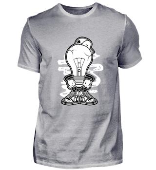 Light Boy Comic Hip Hop T-Shirt