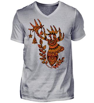★ Deer Folklore Mandala II