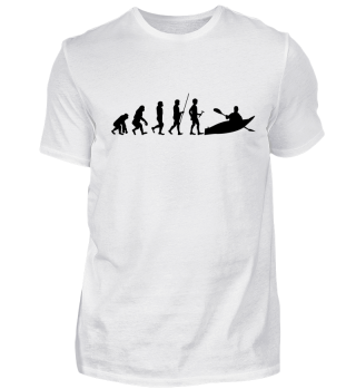 Evolution zum Kayak - Tshirt