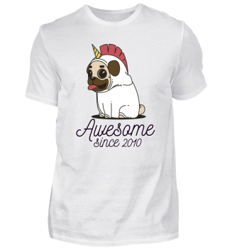 Awesome Since 2010 Funny Gift