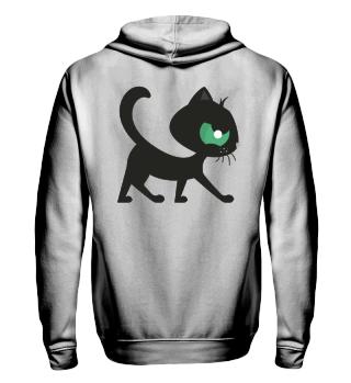 Black Cat - Backprint