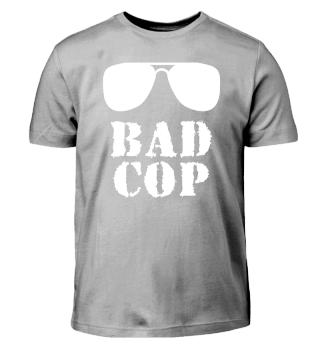 Bad Cop Vater Sohn Partnerlook Geschenk