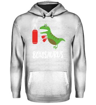 Dino Dinosaur Boxer Boxing T-Shirt Gift