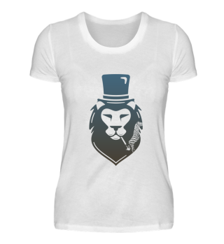 Ladies Shirts- Smoking Lion