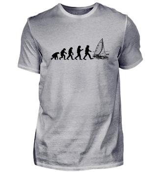 Evolution Segeln! Segelboot Geschenk