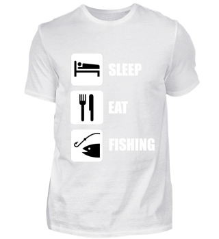 SLEEP EAT FISHING