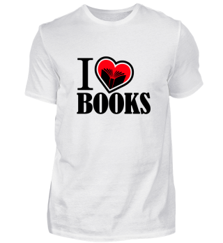 I love Books / Bücher