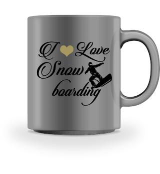 ♥ I LOVE SNOWBOARDING #3SGT