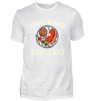 Funny Barbecue Grill Sergeant - T Shirt