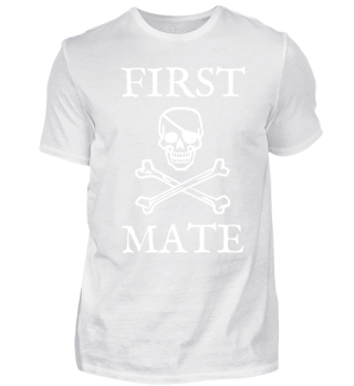 PIRATE FIRST MATE SKULL