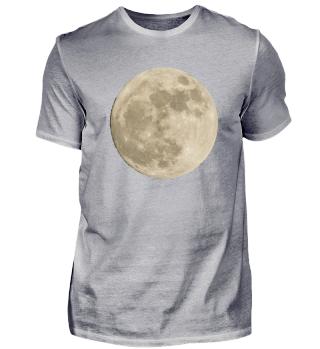 Mond Moon Mondschein Planet T-shirt