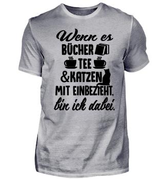 ++ BÜCHER,TEE & KATZEN - BIN DABEI !! ++