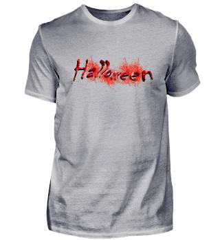 Halloween Psycho Blut Geschenkidee